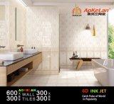 baldosa cerámica de la cocina del cuarto de baño del azulejo de la pared de la inyección de tinta 6D para la decoración casera (30601)