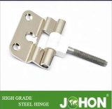 Acero o hierro Bisagra de puerta a ras (100X75mm Sub-madre (mariposa) de hardware)