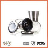 Ws-Pgs022 het Zout van het Roestvrij staal en de Molen van de Peper met Regelbare Ceramische Rotor wordt geplaatst die