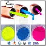 Fluorescente Pigmento em unha em pó, cores brilhantes Neon Nail Enamel Pigment Supplier
