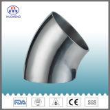 Accessorio per tubi sanitario dell'acciaio inossidabile: 2wk gomito saldato 45 gradi (3A-No. NM022118)