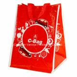 Grand sac tissé par pp de capacité, sac à provisions