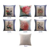 Подушки сиденья роскошного хлопка Linen для кровати