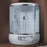 Glissant la pièce de douche complète avec la douche de main (silkscreen blanc)