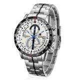 Reloj personalizado movimiento mecánico del acero inoxidable