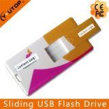 Cartão de deslizamento de impressão colorida USB Pen Pen Drive (YT-3115)