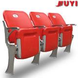 Blm-4671 Juyi Marken-Aluminiumbein-Fabrik-Plastikstuhl-Fußball-Sportzentrum-preiswerte Gymnastik-faltende Zuschauer verwendete Kirche-Stühle