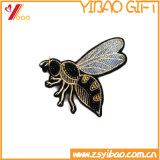 カスタムロゴのHightの品質の刺繍パッチ、編まれたラベルの刺繍(YBeb408)のPacth