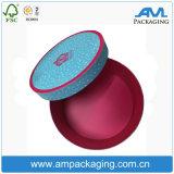 Personalizado Pastel de tubo redondo de embalaje de grado alimenticio de repostería caja de empaquetado
