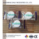 Устранимая Nonwoven Compressed ткань монетки полотенца стороны Wahcloths, Eco-Friendly