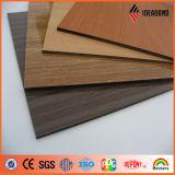 El panel compuesto de aluminio de la mirada de madera del precio de fabricante