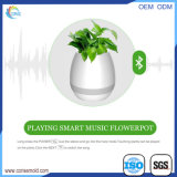 Hot vente Smart Touch de la musique sans fil haut-parleur Bluetooth Flowerpot