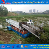 Barcos de colhedora de plantas daninhas de água automático
