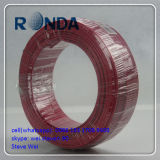 Fio elétrico contínuo isolado PVC do núcleo de cobre