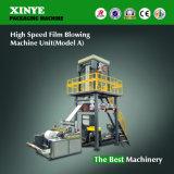 De HDPE de alta velocidade/máquina de sopro da película de LDPE