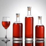 Verre de haute qualité de la Vodka vin Bouteille de jus de boissons avec capuchon de joint