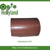 PE & PVDF Folha de alumínio revestida de cor (ALC1113)