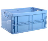 Extra grand conteneur de stockage de plastique durable pliable avec couvercle