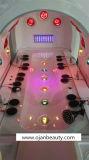 Amincissement de la vapeur d'ozone thérapie lumineuse à LED Infrarouge Sauna Spa Capsule pour la vente