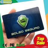 Baixos MOQ fixam o construtor RFID do cartão de crédito que obstrui o cartão