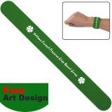 Incandescenza in Dark Silicone Bracelet con Customer Logo Design