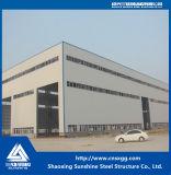 Edificio de acero de la estructura de azotea del solo palmo para el almacén, taller