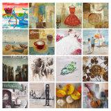 花のキャンバスの印刷のホームDeco手の油絵のキャンバス
