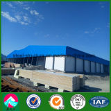 Stanza prefabbricata di conservazione frigorifera della struttura d'acciaio in Uzbekistan