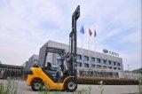 3.5t UNO Gasoline/LPG Forklift mit Nissans K25 Engine mit CER (FGL35T)