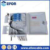 1*16 PLC 쪼개는 도구 IP65 옥외 FTTH 광섬유 배급 상자, FTTH 상자