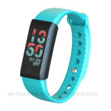 L'écran couleur étanche Bluetooth Smart Bracelet avec la fréquence cardiaque X6