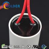 Wechselstrom-Motorstartkondensator (CBB60 805/450) mit rotem Kabel