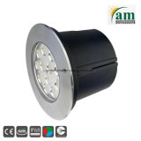 illuminazione subacquea dell'acciaio LED di 36W Staineless per la fontana