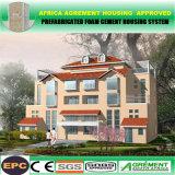Edificio casero del acero de la casa modular prefabricada prefabricada ligera de la estructura de acero