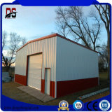 Легкая структура большой пяди установки полуфабрикат стальная для гаража
