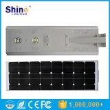 Energia solare LED tutto in un indicatore luminoso di via solare con alto potente