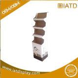 Étalage de carton de bruit de présentoir d'étage de carton avec des crochets