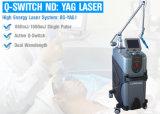 Q geschaltene Nd YAG Laser-Maschine für Tätowierungfreckle-Abbau