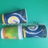 Tazza di carta del caffè caldo a gettare ecologico