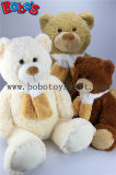 Экологически чистые материалы бежевый большой Тедди несет игрушки с шарфом на оптовых цен
