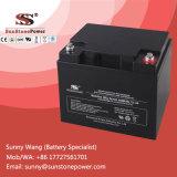 Bateria de armazenamento selada 44ah recarregável de 12V VRLA para o sistema do UPS