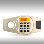 Home Safe Lock com visor LCD
