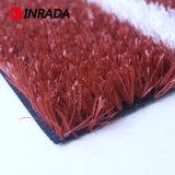 Rotes künstliches Gras für Spielplatz-laufenden Verfolger