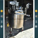 Reactor 200L de acero inoxidable con camisa