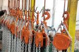 Bloque manual de cadena de acero galvanizado del alzamiento