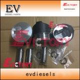 3TN72 3tne72 3TNV72 3TNV70 Kit de camisa do cilindro do anel do pistão para as peças do motor Yanmar