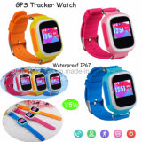 Traqueur coloré de montre des gosses GPS d'écran avec Y5w imperméable à l'eau
