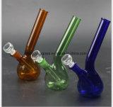 زرقاء, خضراء, أنابيب كهرمانيّة زجاجيّة 7 بوصة [وتر بيب]