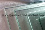 aangemaakte Glas van het Bureau van 10mm het Duidelijke Vierkante Tafelblad