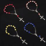 Perles Acryliques voiture Rosaire Pape catholique Francis Décennie Rosaire (IO-EC092)